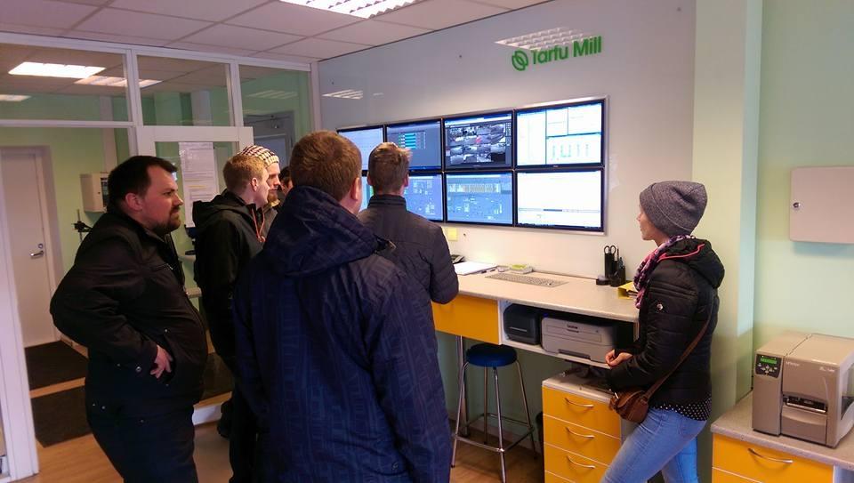 Pieredzes apmaiņas brauciens uz Igauniju, 2016.gada 21.-22.aprīlis, Tartu Mill