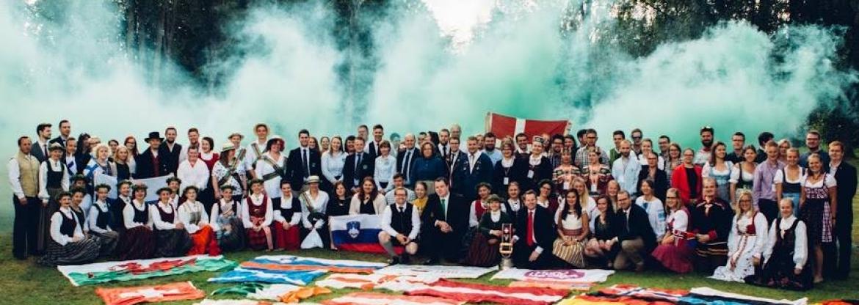Latvija uzņēmusi Eiropas lauku jauniešu salidojumu