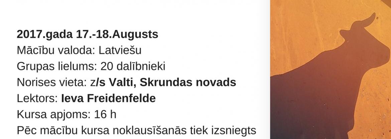 Seminārs gaļas liellopu audzētājiem 17.-18.augustā, ZS Valti