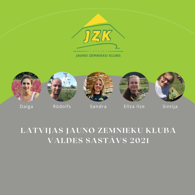 Biedrības valde 2021