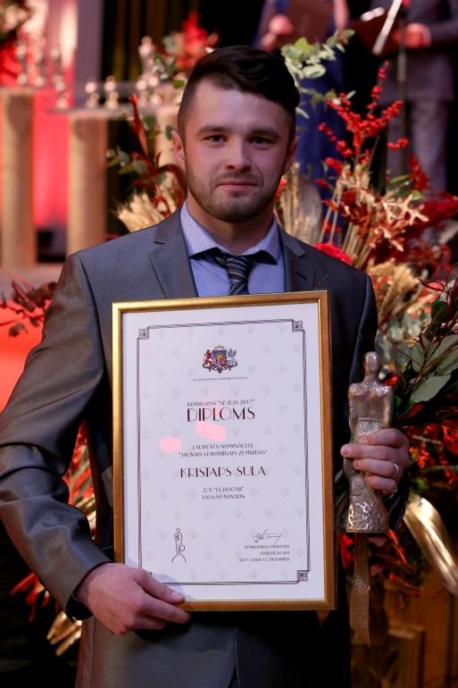 Jaunais veiksmīgais zemnieks 2017 - Kristaps Sula